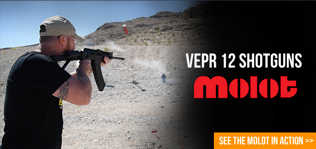 Watch the Molot Vepr Shotgun in action!